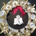 Рождественский венок-венок адвента. Мастер-класс украшения из бросового материала
