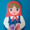 Использование нетрадиционной техники— пластилинография. «Кукла под названием Матрешка».