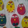 «Разноцветные цыплята» в рамках кружковой работы «Умелые ручки» (подготовительная группа)
