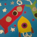 Художественное творчество «Космос глазами детей» (подготовительная группа)