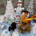 Выставка творческих работ семей воспитанников «Новогоднее настроение»