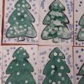 Совместная деятельность— рисование «Елочка в снегу» (вторая младшая группа)