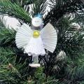 «Ангел-подвеска на елочку». Мастер-класс по изготовлению поделки из бросового материала