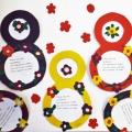 Аппликация «Восьмерка» с элементами пластилинографии на праздник 8 Марта для самых маленьких малышей