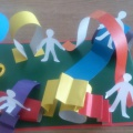 Мастер-класс «Проект участка детского сада»