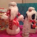 Мастер-класс «Дед Мороз и Снегурочка из ваты и пластиковых бутылок»