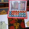 Дидактическая игра «Цветные домики»