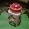 Подарок для мамочки: коробочка для рукоделия. Средняя группа