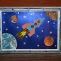 Картина «Полет в космос»