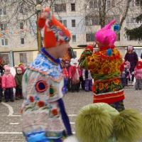 Фотоотчет о праздновании в ДОУ «Масленицы»