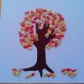 Мастер-класс по аппликации с использованием природного материала «Осеннее дерево»