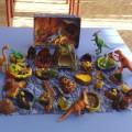 Мастер-класс макета «Мир динозавров»