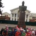 Фотоотчет. Экскурсия с детьми средней группы «Памятные места нашего города»