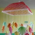 Мастер-класс изготовления осеннего мобиля «Разноцветные листочки»