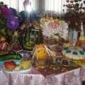 Выставка поделок из овощей, фруктов и природного материала «Что нам осень принесла?» (фотоотчет)