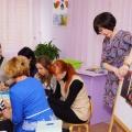 Мастер-класс для родителей и педагогов по нетрадиционному способу рисования «Цветные сны»