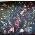 Мастер-класс «Космический мир» в нетрадиционной технике рисования «граттаж»