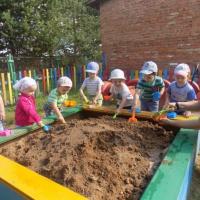 Познавательно-исследовательский проект «Волшебный песок» (1 младшая группа «Солнышко»)