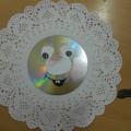 Мастер-класс: работа из бросового материала «Снежинка из CD диска»