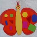 Дидактическая игра по математике «Волшебная бабочка» для среднего дошкольного возраста