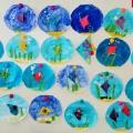 Конспект НОД по аппликации в подготовительной группе «Золотая рыбка в аквариуме»