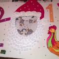 Маска «Дед Мороз»