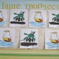 Выставка детских работ «Я и папа» и подарки к 23 февраля