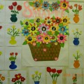 Стенгазета «Мама мой цветочек»