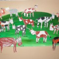 «У моей коровушки». Учимся рисовать корову