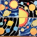 Коллажи «Солнечная система». Фотоотчет