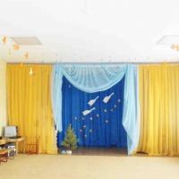 Идея для оформления музыкального зала к осеннему празднику