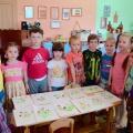 Кляксография в детском саду