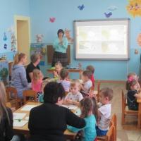 Фотоотчёт о проведении мастер–класса с участием родителей