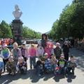 Фотоотчет об экскурсии с возложением цветов к памятнику в честь Дня Победы
