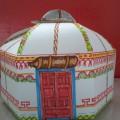 Мастер-класс «Упаковочная коробка в форме кибитки»