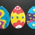 Мастер-класс детский «Украшаем пасхальное яйцо. Пластилинография»