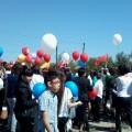 Фоторепортаж о праздновании Дня Победы в селе Малые Дербеты