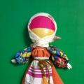 Красавица на ложке. Мастер-класс по изготовлению славянской куклы.