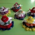 Фотоотчет о проведении мастер-класса для родителей «Народная тряпичная кукла «Колокольчик»
