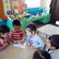 Фотоотчет о переписке между детскими садами «Письма, письма лично на почту ношу…»