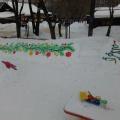 Наш зимний участок «Весёлый Новый Год» (фотоотчёт)