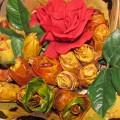 Поделка из природного материала «Осенний букет»