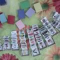 Коллекции обучающих карточек в спичечных коробках