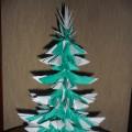 Мастер-класс «Рождественская ёлочка» из бумажных модулей