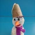 Фотоотчёт. Выставка поделок  «Весёлый снеговик».