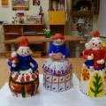 Дымковские «Барыни»— игрушки расписные. Детский мастер-класс