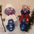 Мастер-класс для педагогов и родителей «Объемные игрушки— Снеговики»