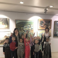 Фотоотчет «Необычная экскурсия в городской музей»