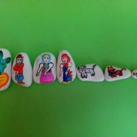 «Волшебные камушки». Дидактическая игра для детей младшего дошкольного возраста