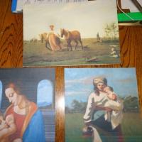 Дидактическая игра-пазл «Назови художника и название репродукции» для детей старшего дошкольного возраста
